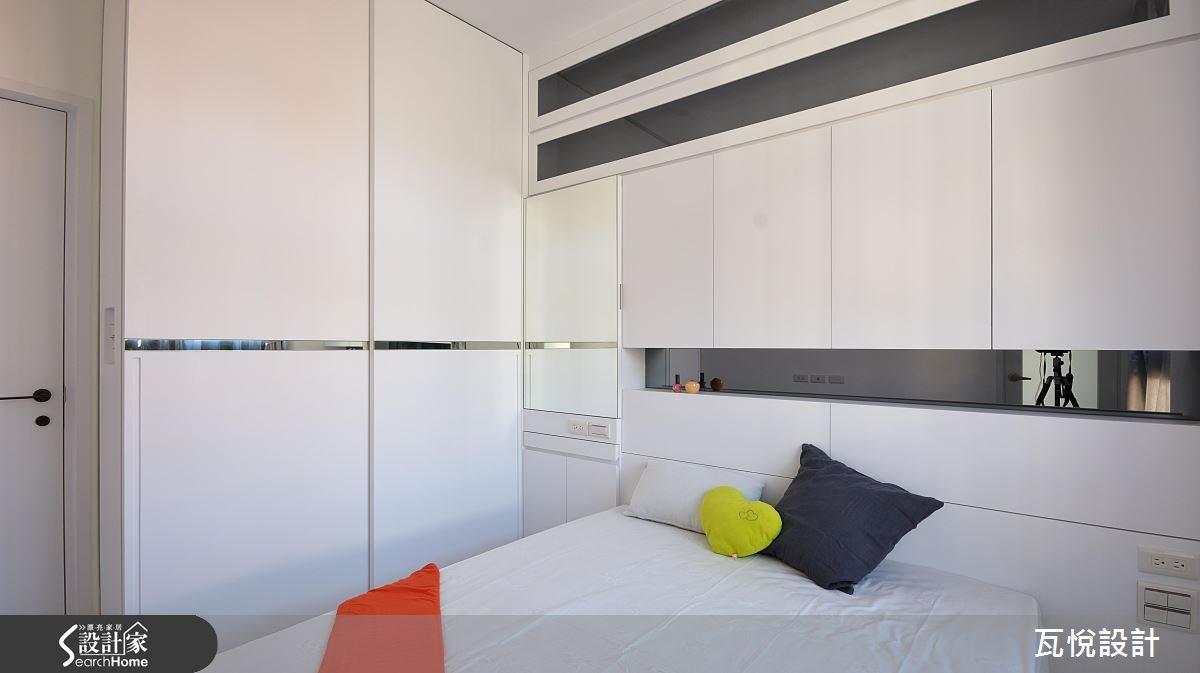新成屋(5年以下)_現代風臥室案例圖片_瓦悅設計_瓦悅_29之24