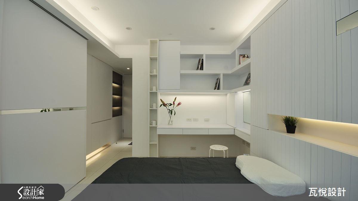 23坪中古屋(5~15年)_現代風臥室案例圖片_瓦悅設計_瓦悅_30之33