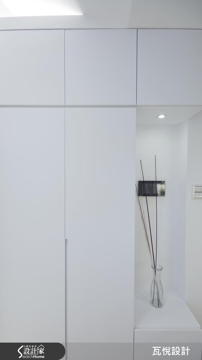 13坪新成屋(5年以下)_現代風玄關案例圖片_瓦悅設計_瓦悅_31之1