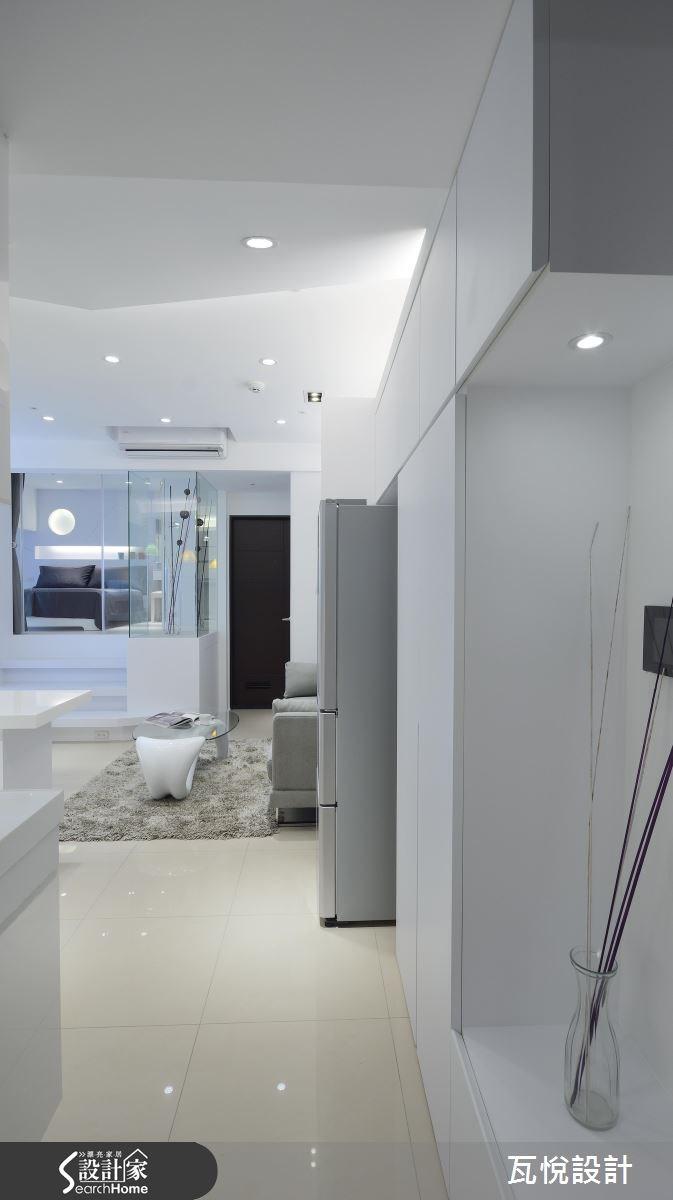 13坪新成屋(5年以下)_現代風玄關案例圖片_瓦悅設計_瓦悅_31之2