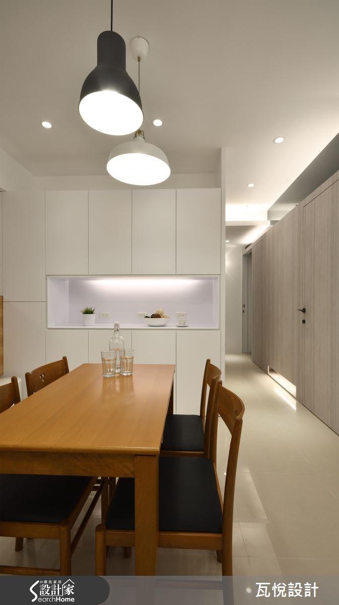 25坪新成屋(5年以下)_混搭風餐廳走廊案例圖片_瓦悅設計_瓦悅_32之8