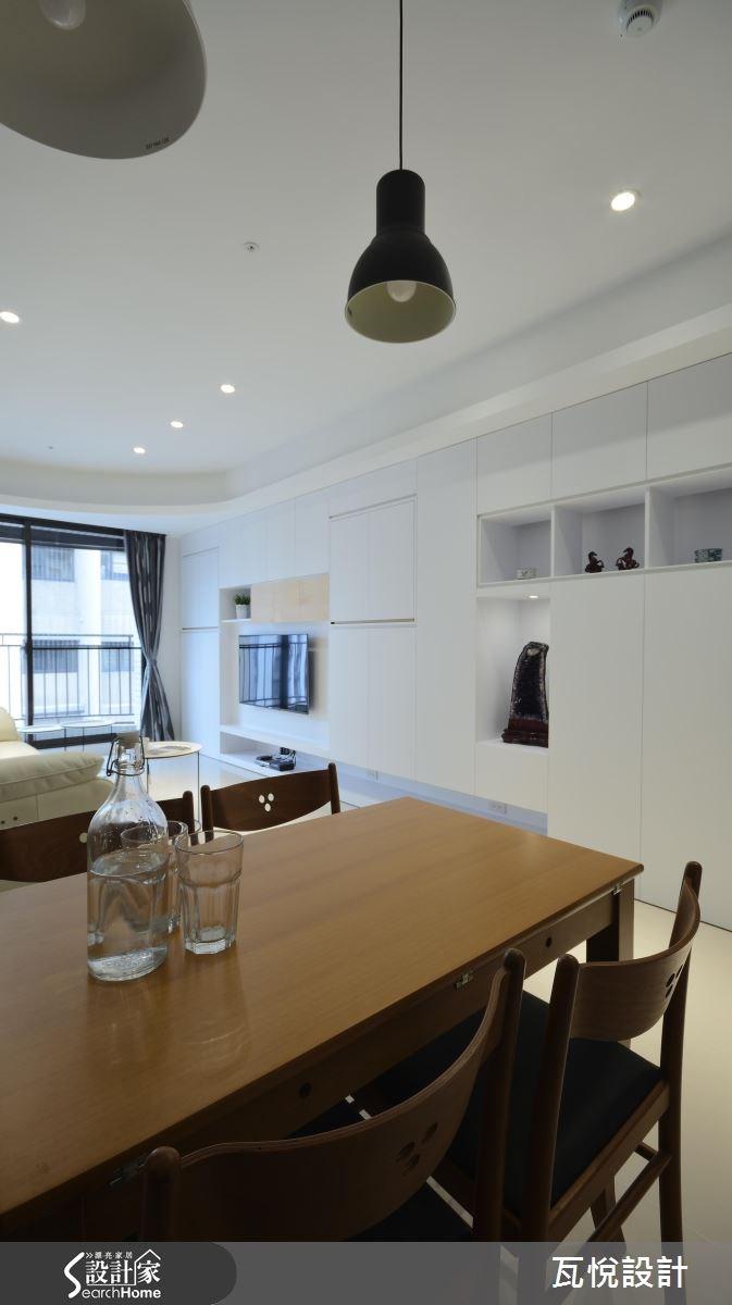 25坪新成屋(5年以下)_混搭風客廳餐廳案例圖片_瓦悅設計_瓦悅_32之11