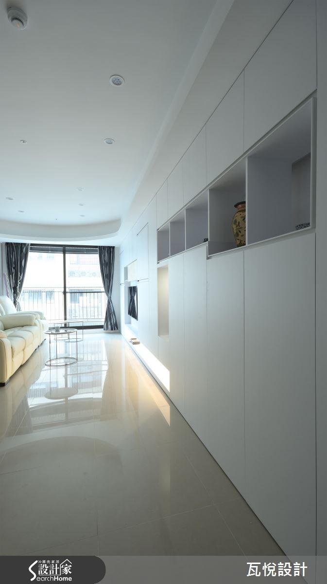25坪新成屋(5年以下)_混搭風客廳案例圖片_瓦悅設計_瓦悅_32之12
