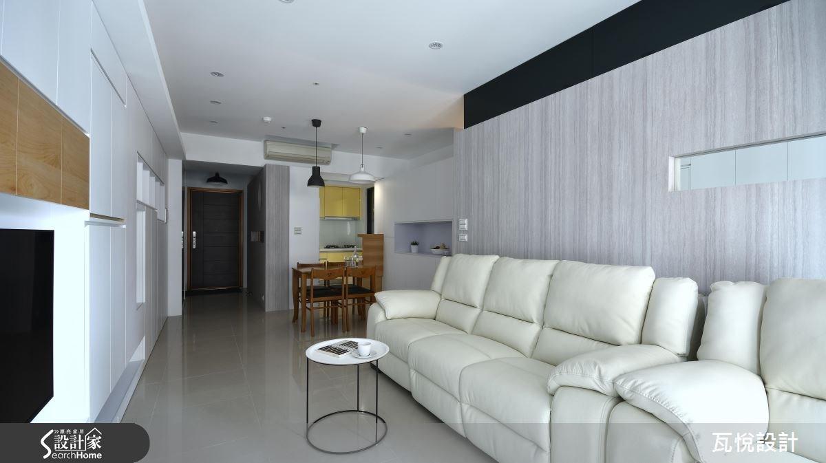 25坪新成屋(5年以下)_混搭風客廳餐廳廚房案例圖片_瓦悅設計_瓦悅_32之13