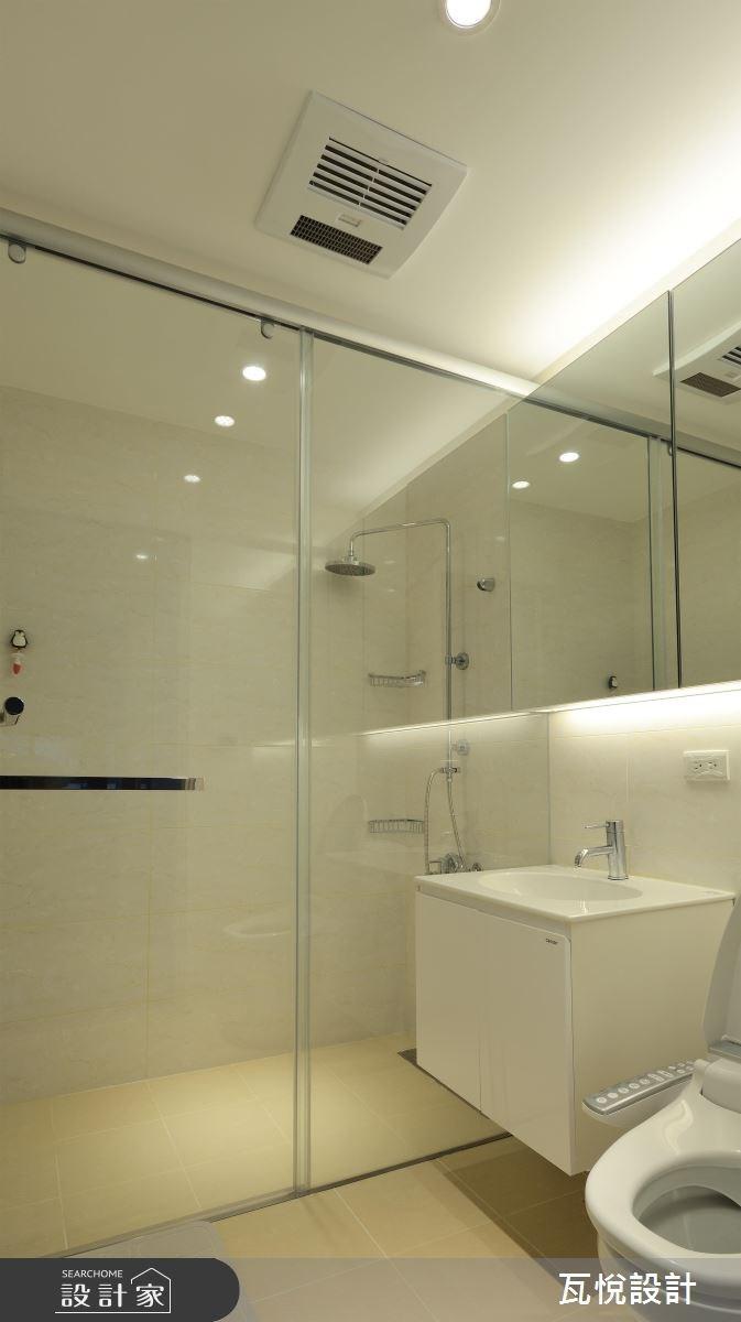 21坪老屋(16~30年)_現代風浴室案例圖片_瓦悅設計_瓦悅_33之40