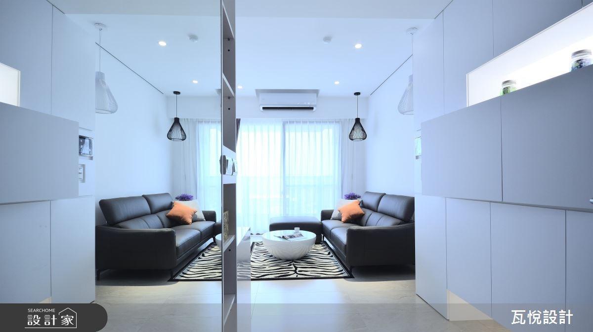 20坪新成屋(5年以下)_現代風玄關客廳案例圖片_瓦悅設計_瓦悅_34之1