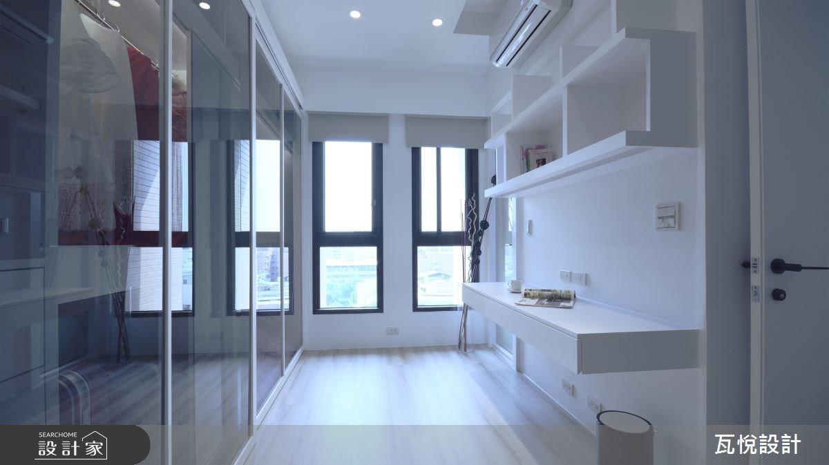 20坪新成屋(5年以下)_現代風臥室更衣間案例圖片_瓦悅設計_瓦悅_34之32