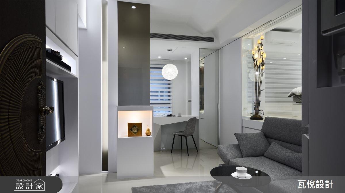 16坪新成屋(5年以下)_現代風客廳案例圖片_瓦悅設計_瓦悅_36之1