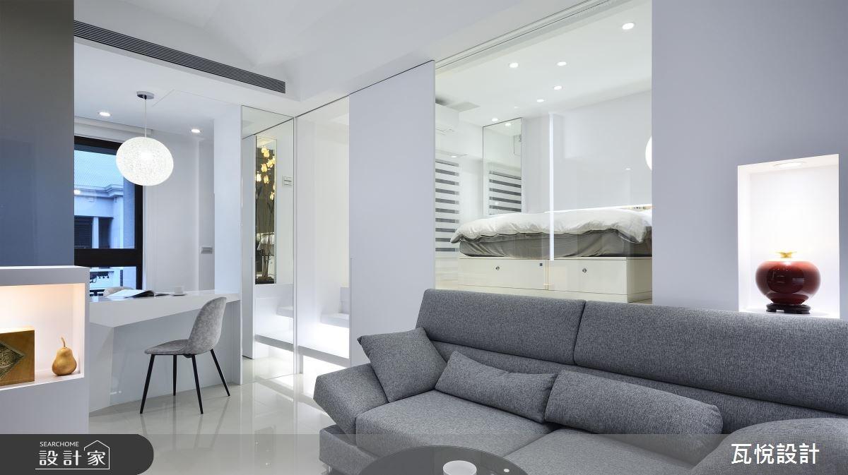 16坪新成屋(5年以下)_現代風客廳吧檯案例圖片_瓦悅設計_瓦悅_36之4