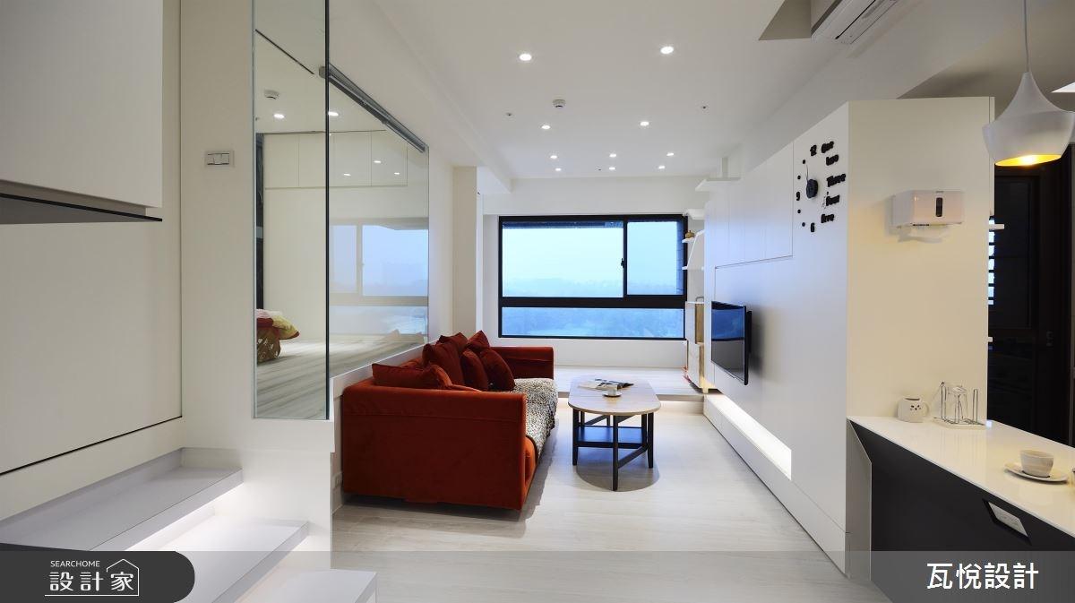 16坪新成屋(5年以下)_現代風客廳案例圖片_瓦悅設計_瓦悅_38之4