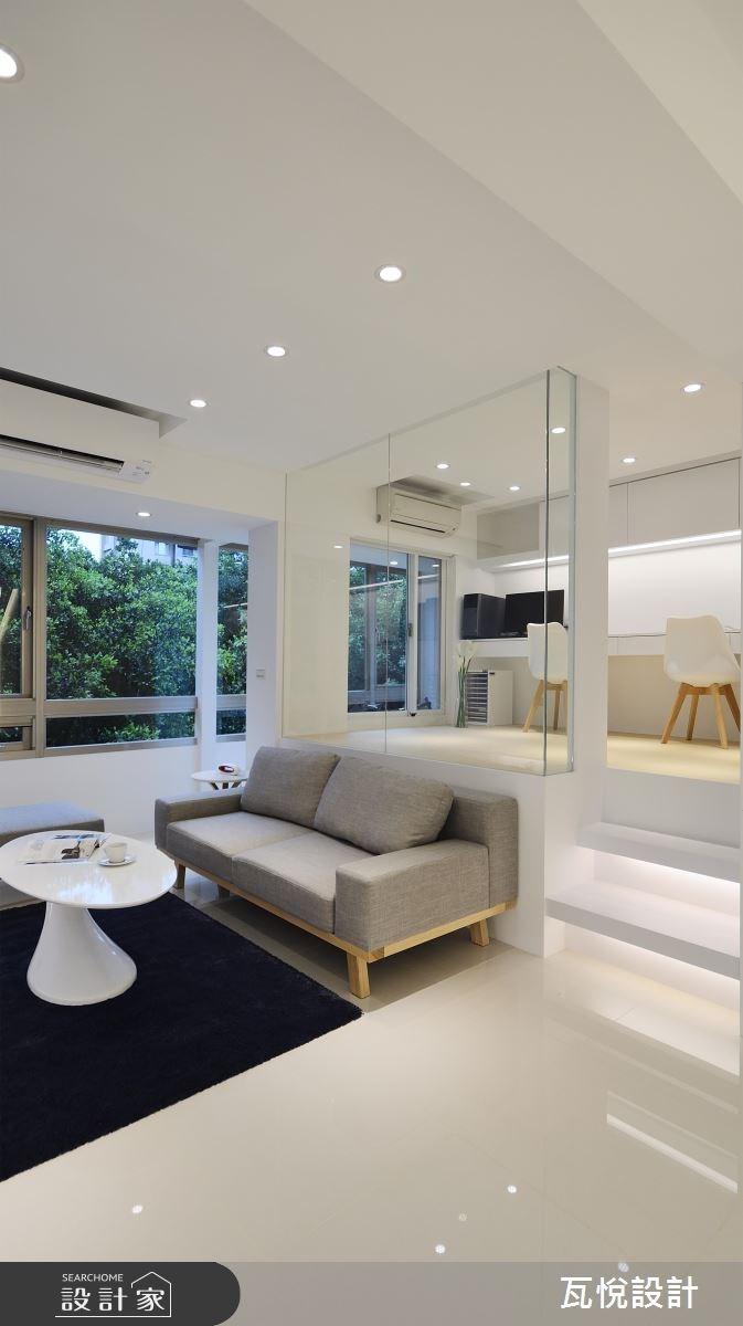 24坪老屋(16~30年)_現代風客廳案例圖片_瓦悅設計_瓦悅_40之13