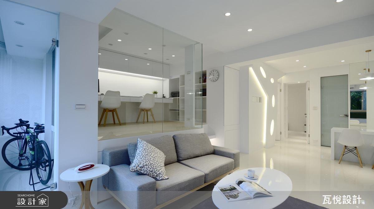 24坪老屋(16~30年)_現代風客廳案例圖片_瓦悅設計_瓦悅_40之16
