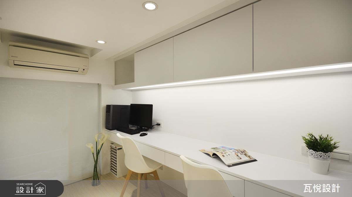 24坪老屋(16~30年)_現代風書房案例圖片_瓦悅設計_瓦悅_40之23