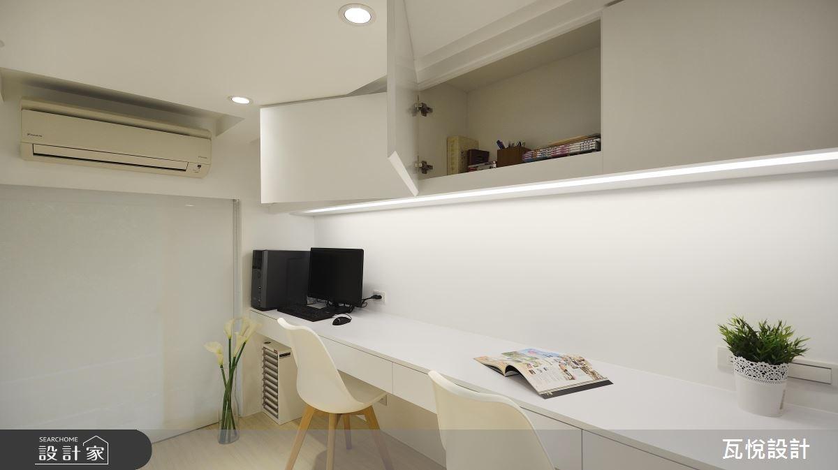 24坪老屋(16~30年)_現代風書房案例圖片_瓦悅設計_瓦悅_40之24