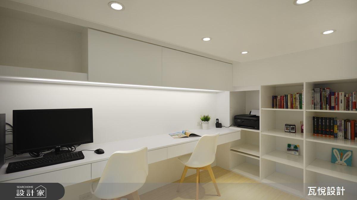 24坪老屋(16~30年)_現代風書房案例圖片_瓦悅設計_瓦悅_40之25