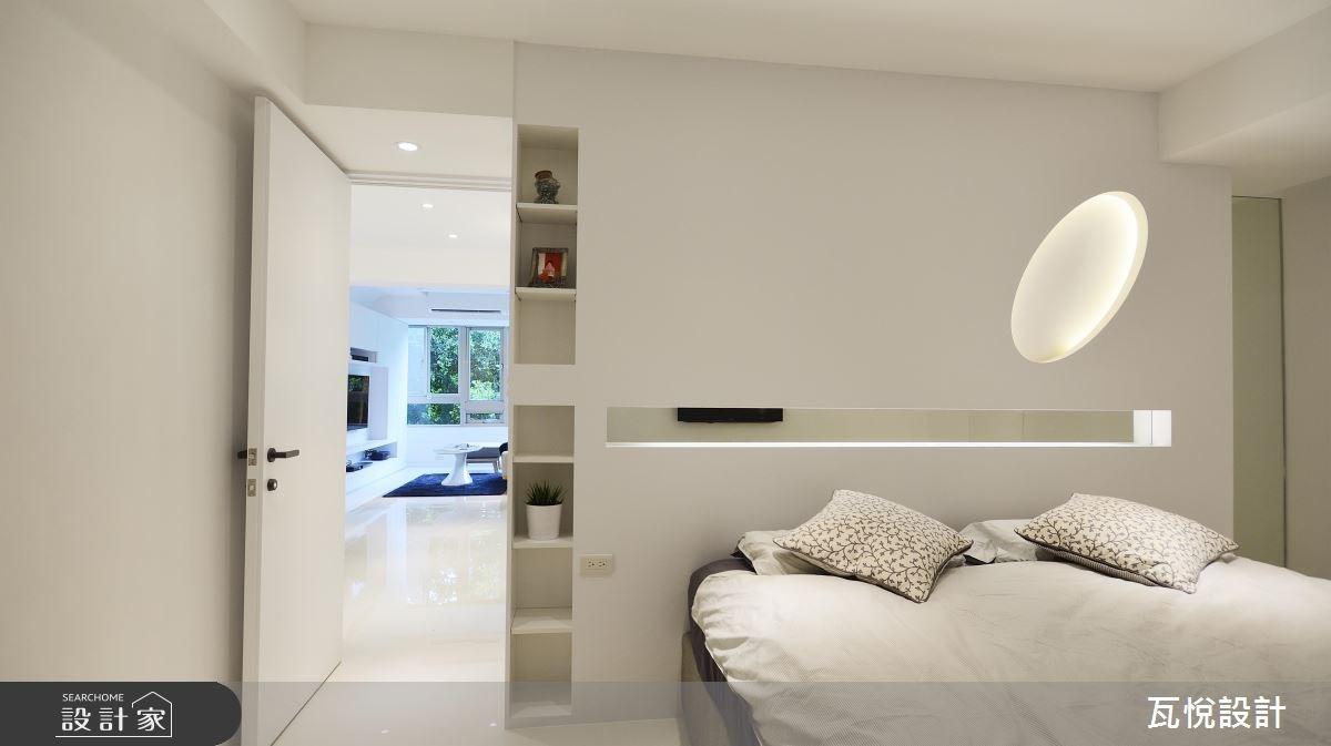 24坪老屋(16~30年)_現代風臥室案例圖片_瓦悅設計_瓦悅_40之28