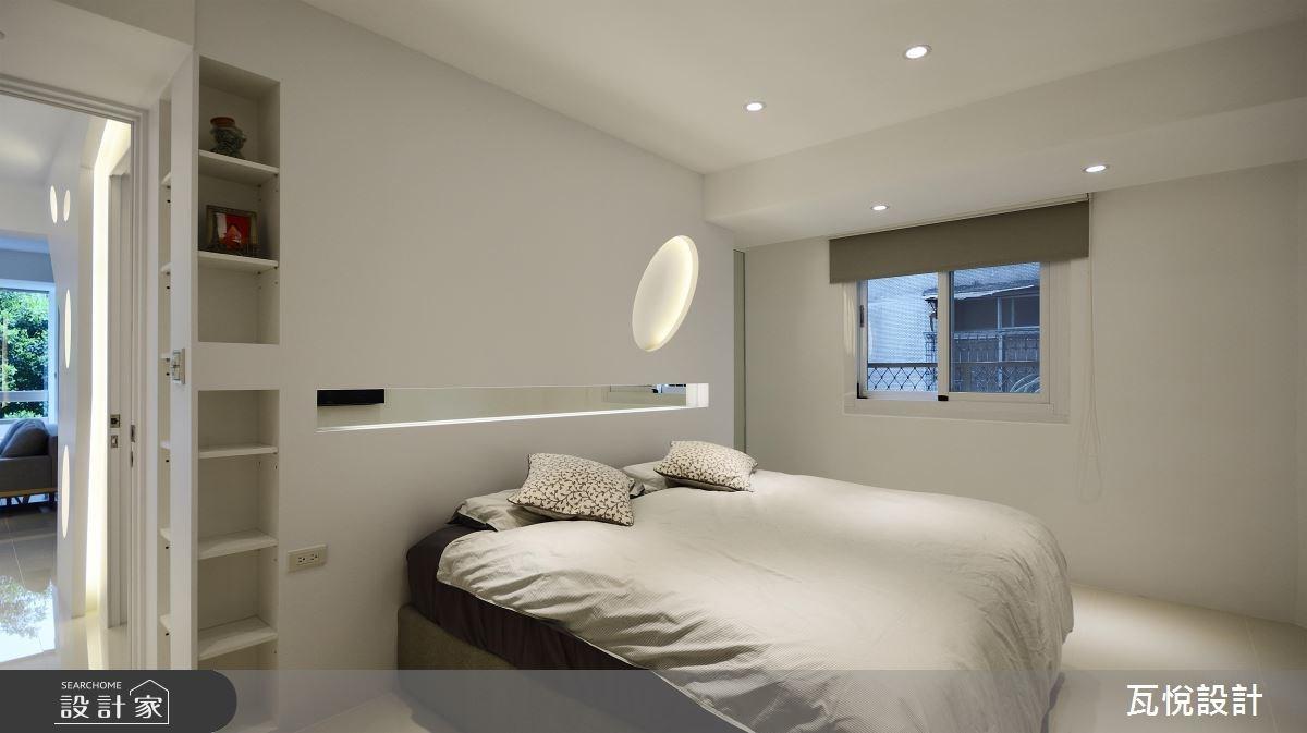 24坪老屋(16~30年)_現代風臥室案例圖片_瓦悅設計_瓦悅_40之29