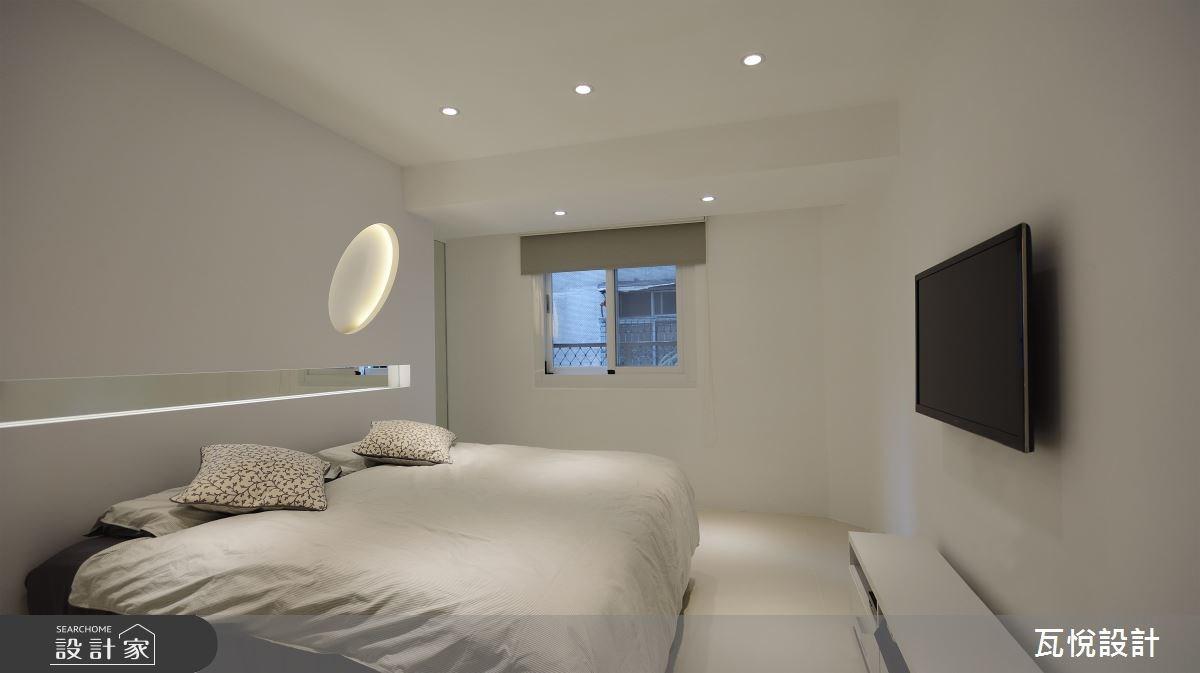 24坪老屋(16~30年)_現代風臥室案例圖片_瓦悅設計_瓦悅_40之30