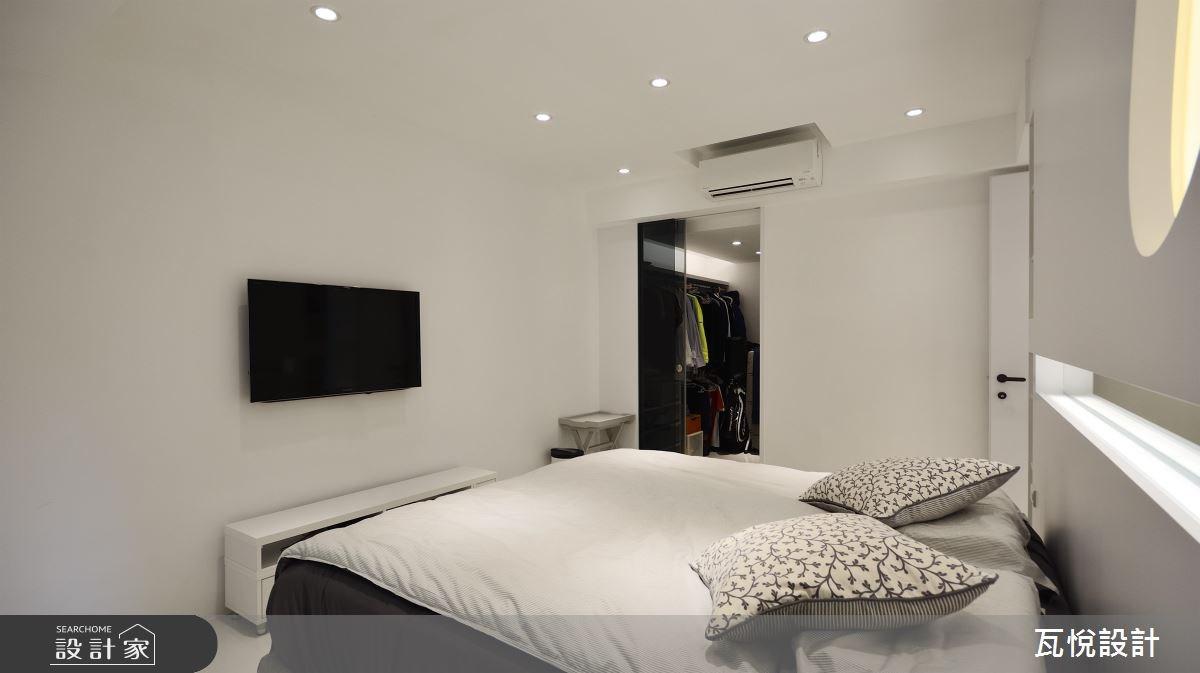 24坪老屋(16~30年)_現代風臥室案例圖片_瓦悅設計_瓦悅_40之33