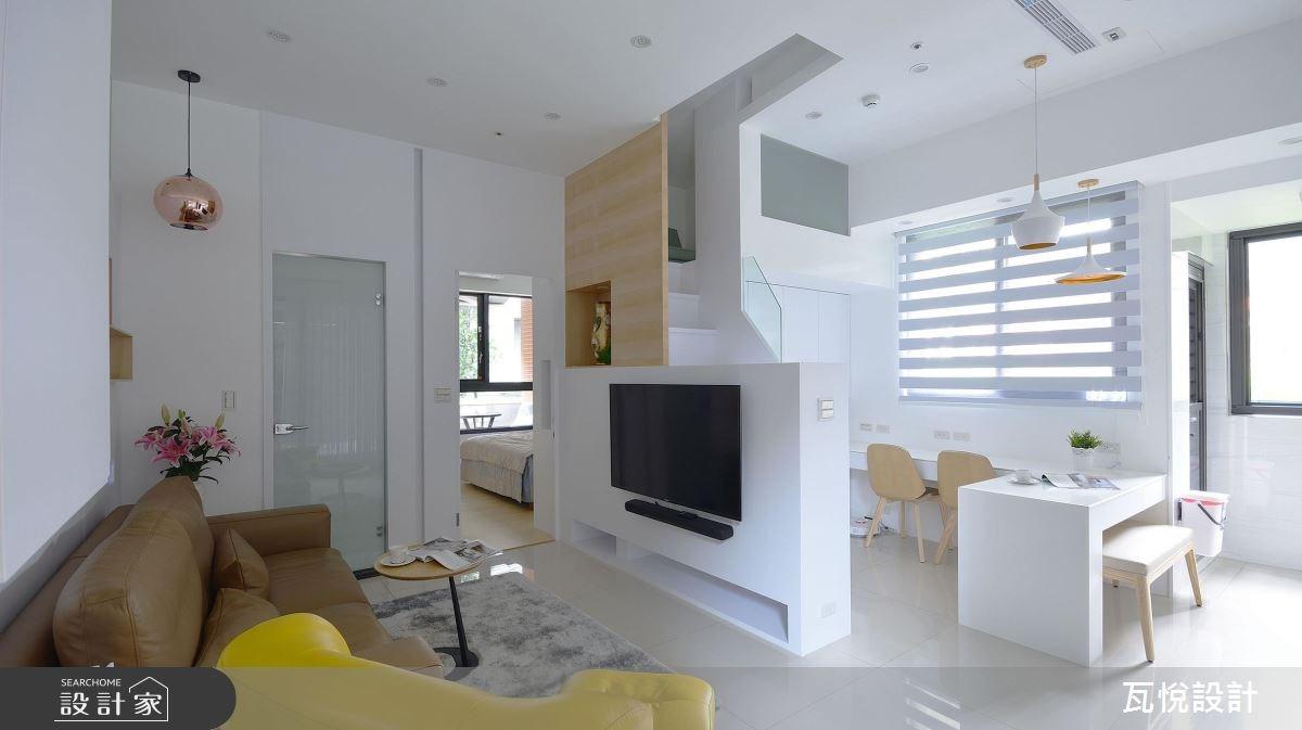 14坪新成屋(5年以下)_現代風客廳案例圖片_瓦悅設計_瓦悅_41之1