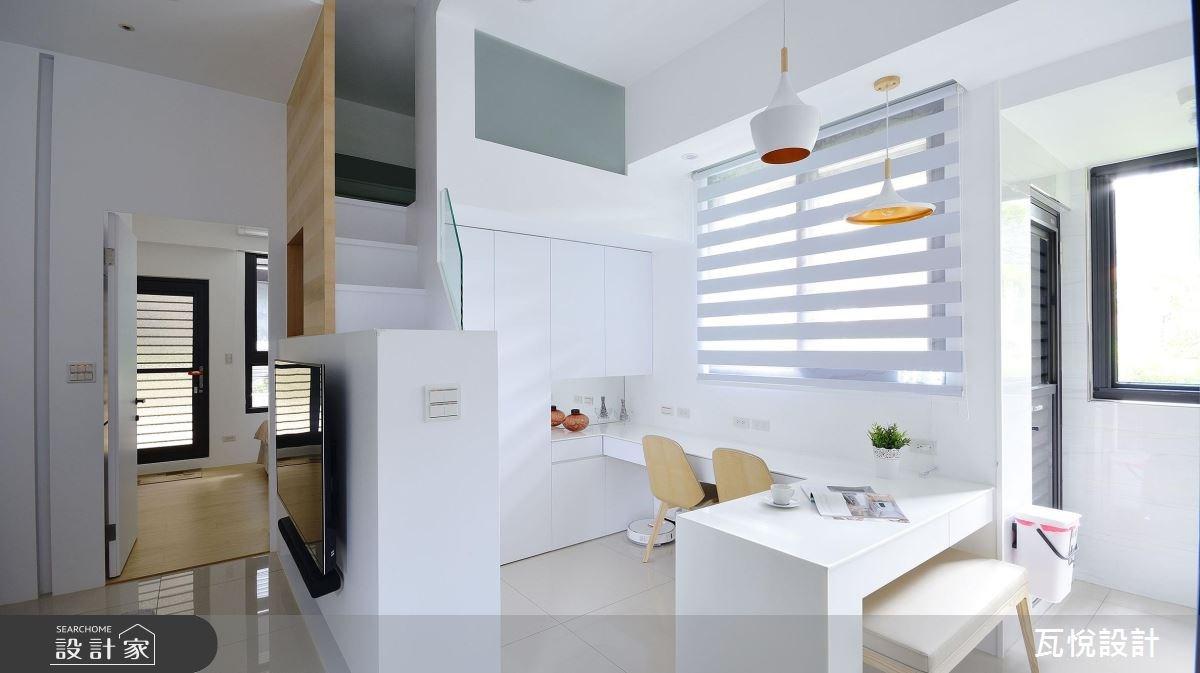 14坪新成屋(5年以下)_現代風餐廳案例圖片_瓦悅設計_瓦悅_41之3