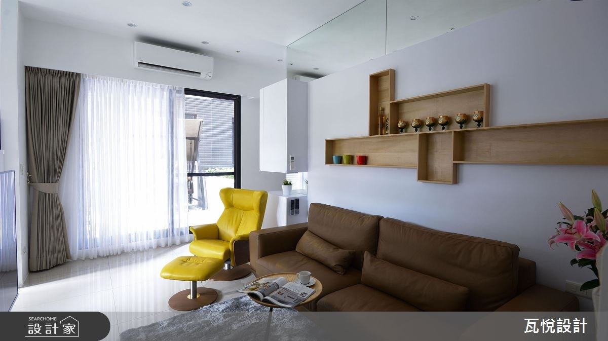 14坪新成屋(5年以下)_現代風客廳案例圖片_瓦悅設計_瓦悅_41之4