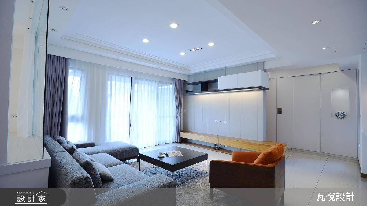 50坪中古屋(5~15年)_北歐風客廳案例圖片_瓦悅設計_瓦悅_42之3