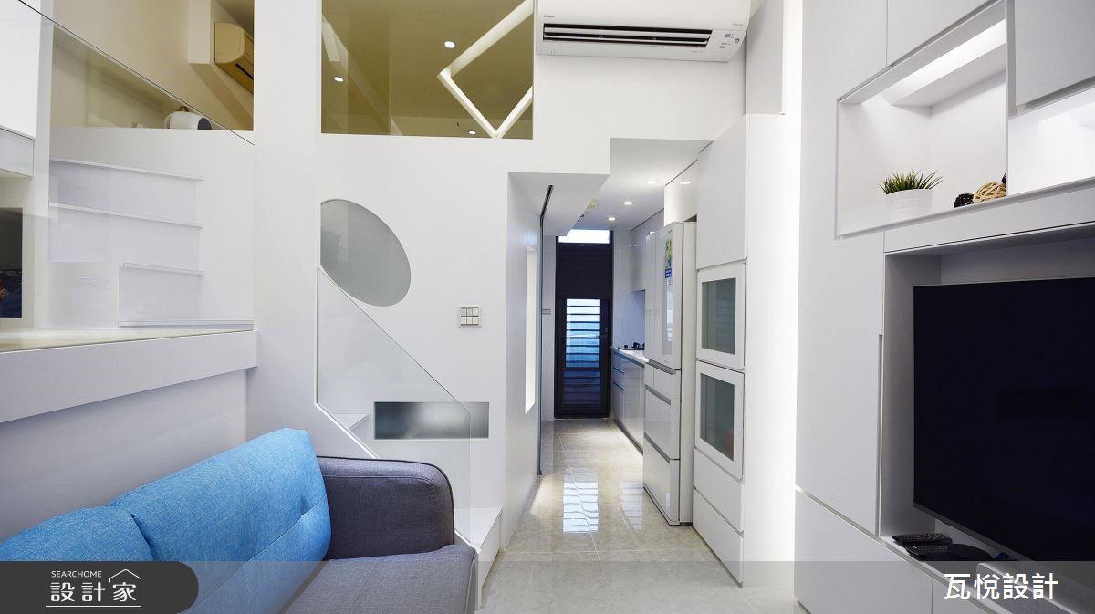 8坪中古屋(5~15年)_現代風客廳案例圖片_瓦悅設計_瓦悅_43之3