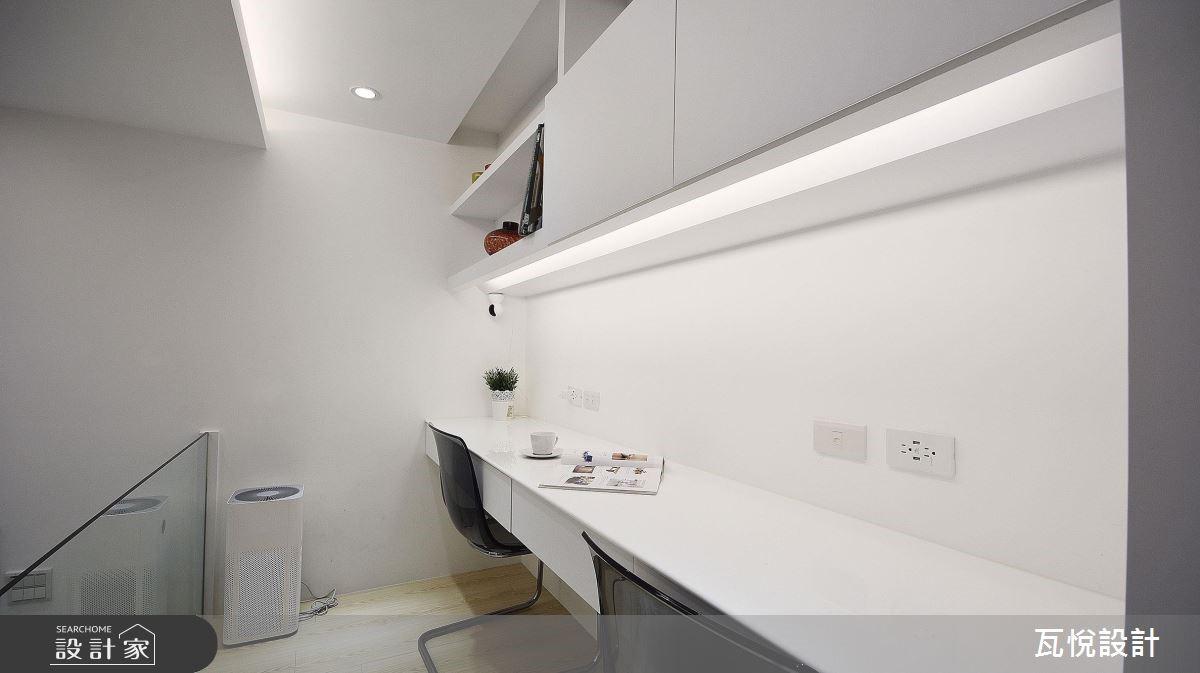 8坪中古屋(5~15年)_現代風書房案例圖片_瓦悅設計_瓦悅_43之15