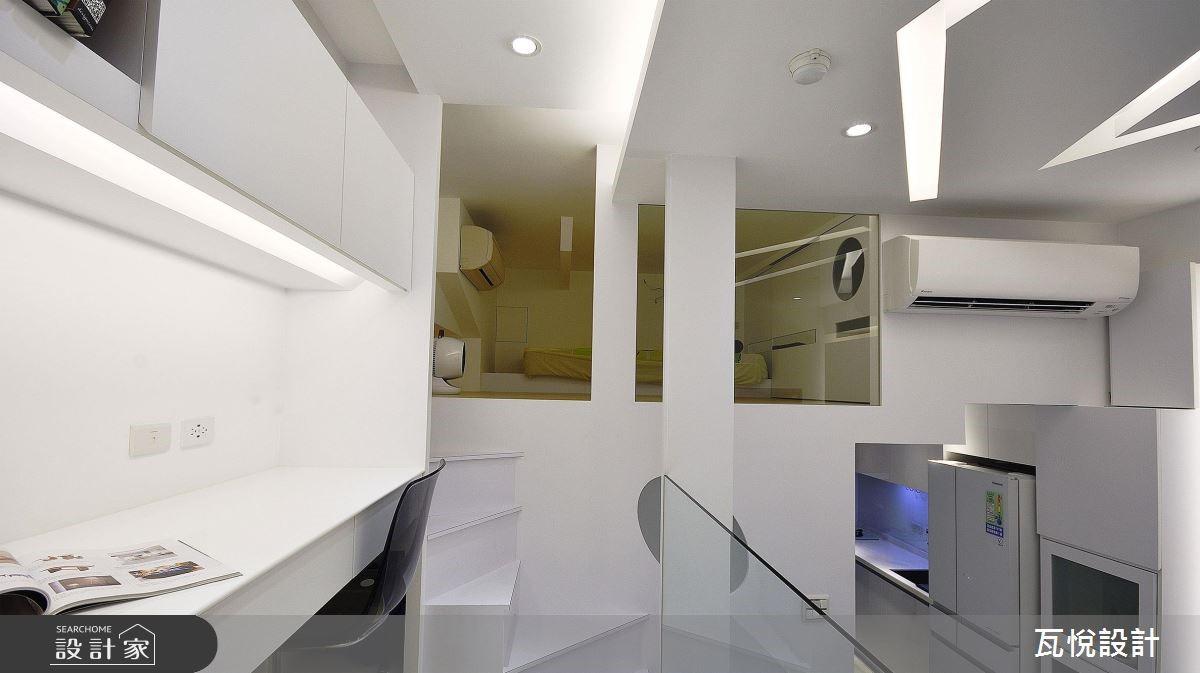 8坪中古屋(5~15年)_現代風書房案例圖片_瓦悅設計_瓦悅_43之16