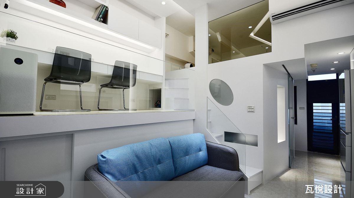 8坪中古屋(5~15年)_現代風客廳案例圖片_瓦悅設計_瓦悅_43之10