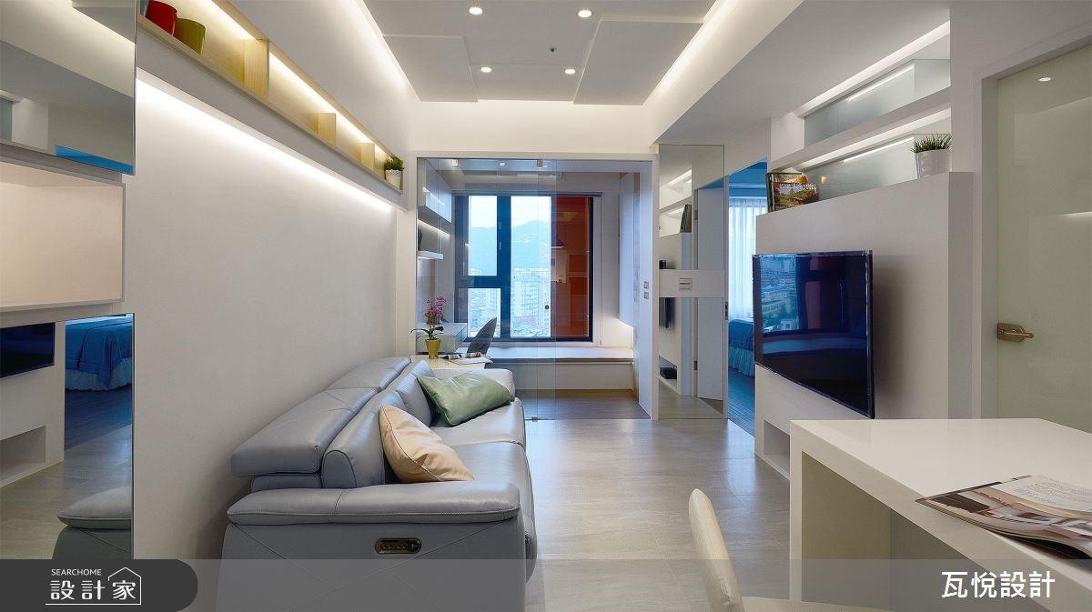16坪新成屋(5年以下)_現代風客廳案例圖片_瓦悅設計_瓦悅_44之3