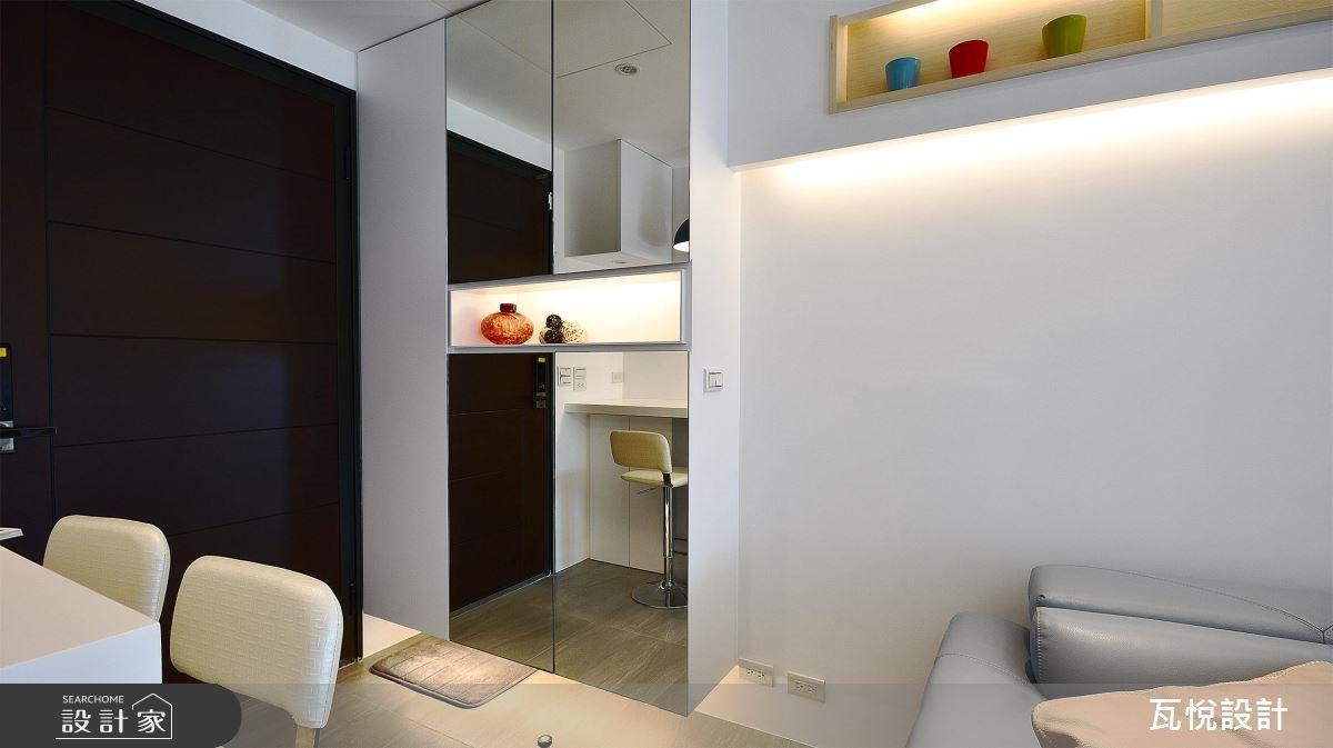 16坪新成屋(5年以下)_現代風客廳案例圖片_瓦悅設計_瓦悅_44之1