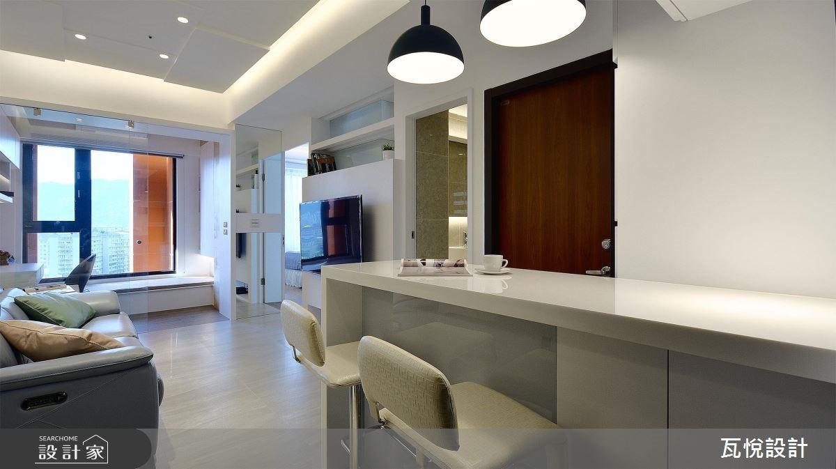16坪新成屋(5年以下)_現代風餐廳案例圖片_瓦悅設計_瓦悅_44之4