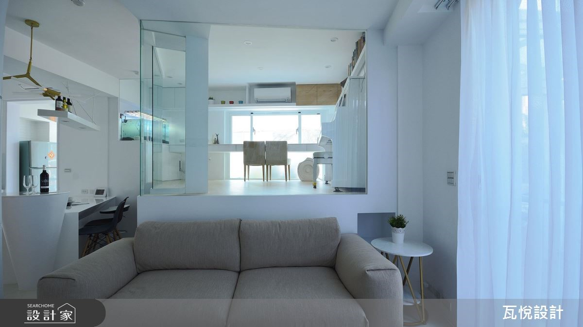 34坪老屋(16~30年)_現代風客廳案例圖片_瓦悅設計_瓦悅_45之9