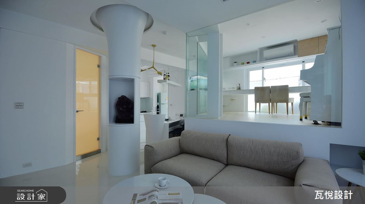 34坪老屋(16~30年)_現代風客廳案例圖片_瓦悅設計_瓦悅_45之10