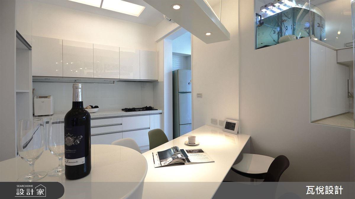 34坪老屋(16~30年)_現代風餐廳案例圖片_瓦悅設計_瓦悅_45之12