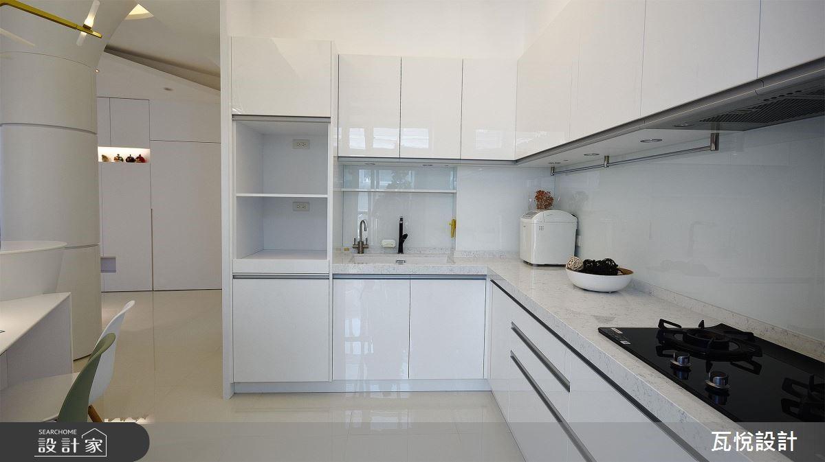 34坪老屋(16~30年)_現代風廚房案例圖片_瓦悅設計_瓦悅_45之13