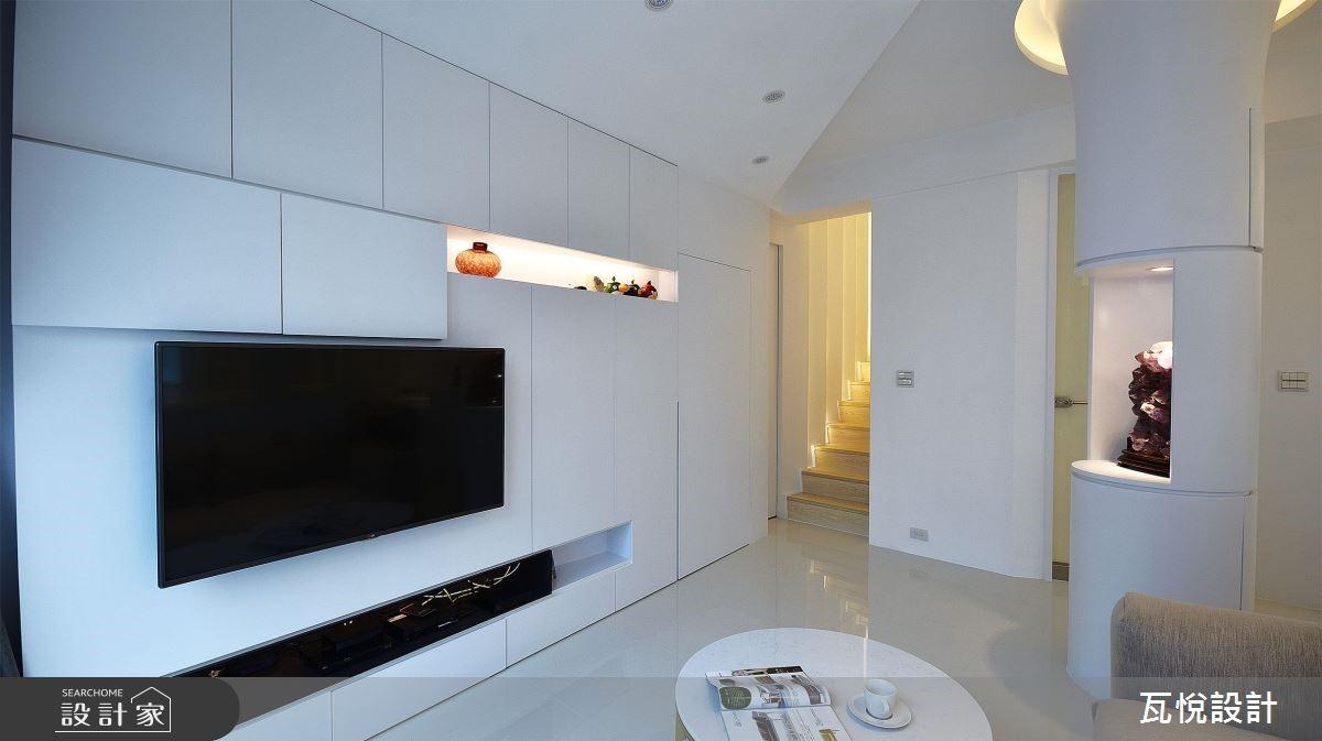 34坪老屋(16~30年)_現代風客廳案例圖片_瓦悅設計_瓦悅_45之1