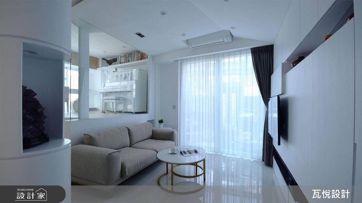 34坪老屋(16~30年)_現代風客廳案例圖片_瓦悅設計_瓦悅_45之7