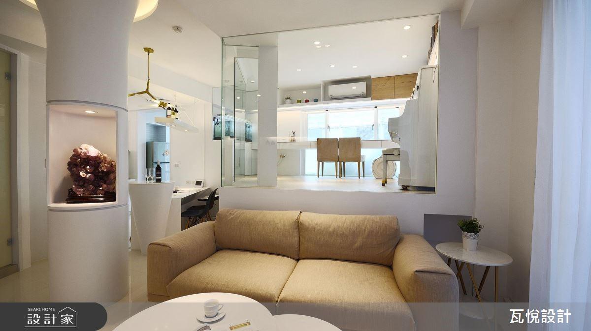 34坪老屋(16~30年)_現代風客廳案例圖片_瓦悅設計_瓦悅_45之5