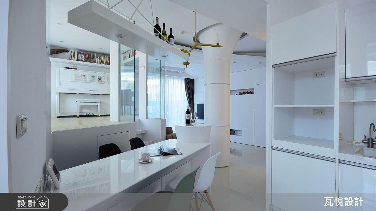 34坪老屋(16~30年)_現代風餐廳案例圖片_瓦悅設計_瓦悅_45之14