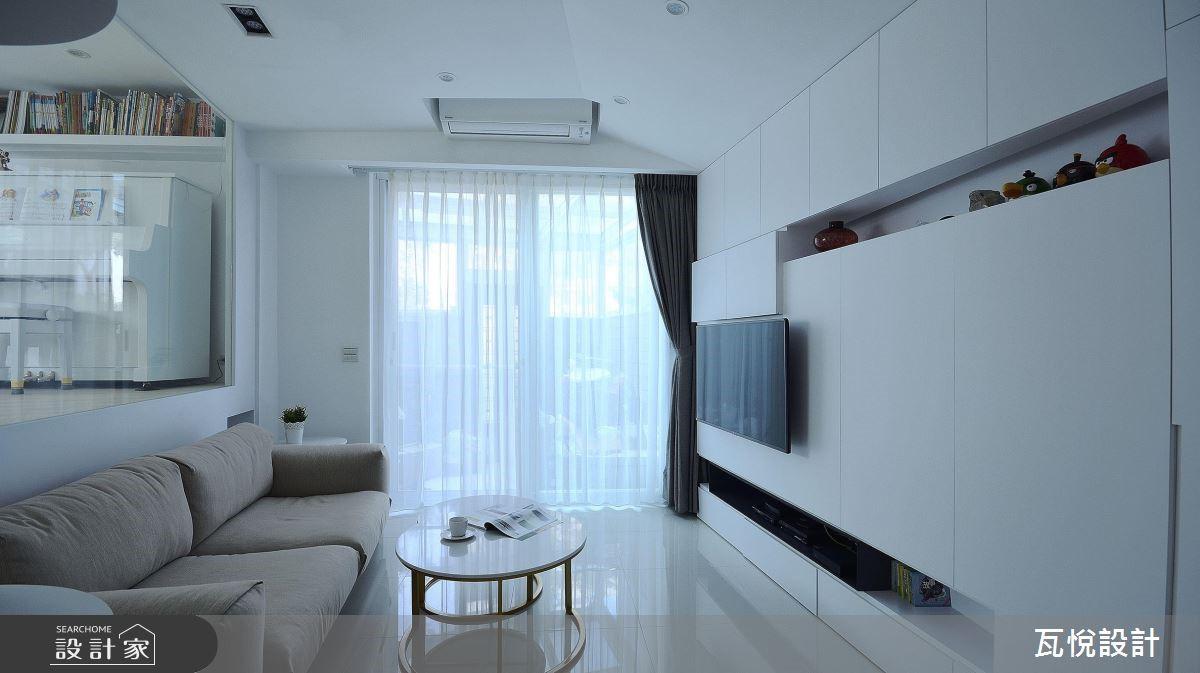 34坪老屋(16~30年)_現代風客廳案例圖片_瓦悅設計_瓦悅_45之8