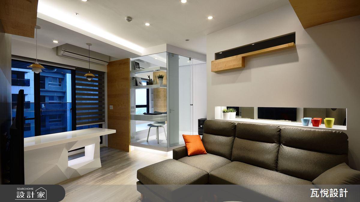 18坪新成屋(5年以下)_混搭風案例圖片_瓦悅設計_瓦悅_48之7