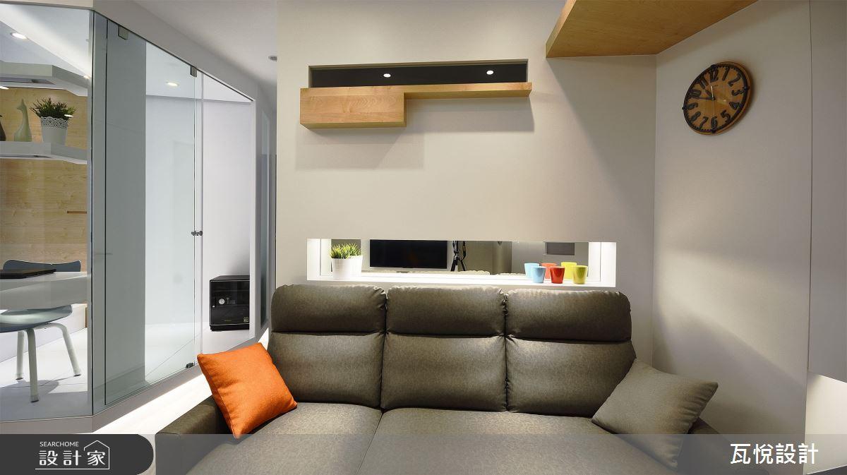 18坪新成屋(5年以下)_混搭風案例圖片_瓦悅設計_瓦悅_48之8