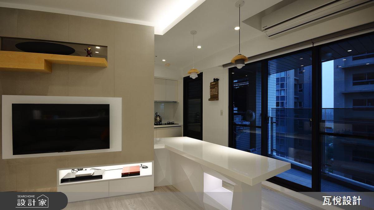 18坪新成屋(5年以下)_混搭風案例圖片_瓦悅設計_瓦悅_48之14