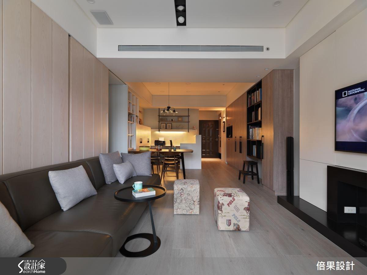 30坪新成屋(5年以下)_美式風案例圖片_倍果設計_倍果_06之3