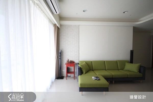 30坪新成屋(5年以下)_現代風客廳案例圖片_達譽設計_達譽_01之2
