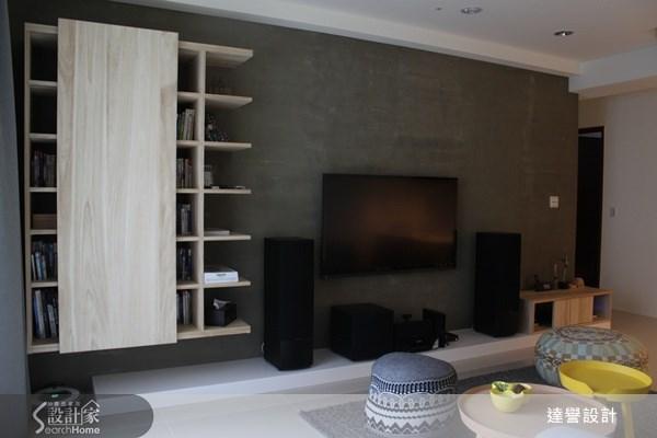 30坪預售屋_北歐風客廳案例圖片_達譽設計_達譽_02之3