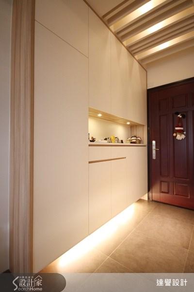 30坪新成屋(5年以下)_現代風走廊案例圖片_達譽設計_達譽_03之2